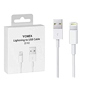 YCNEX Fast USB Data Sync & Charging Cable For iPhone, iPad Air, iPad mini, iPod Nano and iPod Touch (White)