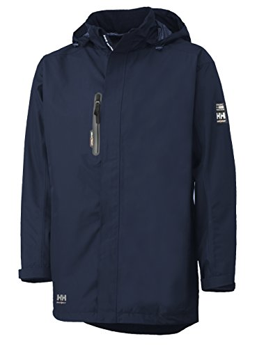HELLY HANSEN WORKWEAR 34-071045-590-L - CHAQUETA IMPERMEABLE  COLOR AZUL  TALLA L