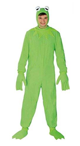 Frosch Kostüm für Erwachsene in grün , Größe:L