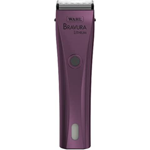 Wahl Professional Animal Bravura Lithium Purple Clipper #41870-0423 by Wahl