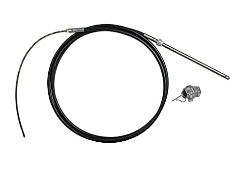 Teleflex Marine Quick Connect Rotary Steering Cable With Quick Connect Addaptor (21 - Feet)