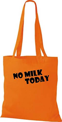Shirtstown leur dictons amusants no milk today plusieurs couleurs Orange - Orange