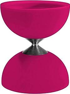Eureka 515738 Acrobat 105 - Diabolo de Goma, Color Rosa