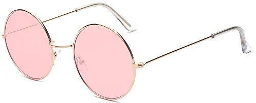 ALWAYSUV Runde Rahmen Vintage John Lennon Sonnenbrille Brillenfassung Hippe ()