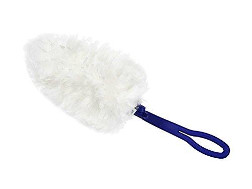 Fleischmann Microfaser Staubmagnet Duster STAUBWUNDER, anti-statisch, 1 Griff + 10 Ersatztücher, waschbar, nimmt doppelt so viel Staub, Haare und Allergene von Staubmilben auf