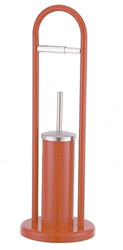 Sanwood WC Garnitur Kombi Bürstengarnitur Farbe Orange