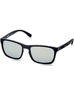 Arnette Burnside, Gafas de Sol para Hombre, Matte Black, 56