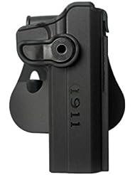 """IMI Defense Z1030 tactique Rétention Holster caché portez ROTO rotation étui de revolver pour 1911 Des variantes avec et sans rails 5 """""""