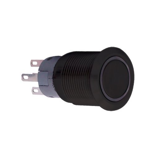 PlasmaGlow 11120 Black LED Activator Switch with Blue Light (On/Off Version) by Plasmaglow - Switch Activator