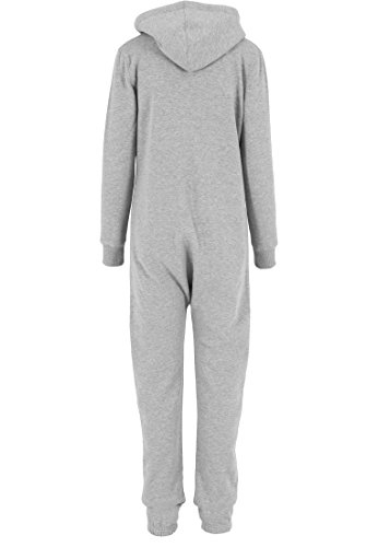 Urban Classics Damen Overall Jumpsuit Sweat Grau - 2
