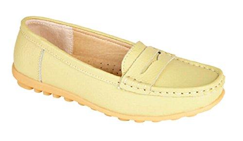 Mocassini da donna di lusso in pelle disponibile nei colori oro bianco, giallo o rosa, numeri 36-37,5-38,5-40-41-42,5 Lime