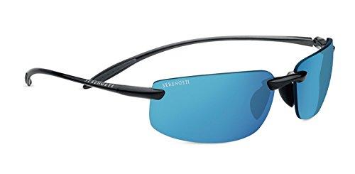 Serengeti lipari, occhiali da sole con lenti fotocromatiche unisex-adulto, brillante hematite, m