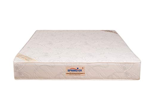 Springtek Ortho Pocket Spring 6-inch Queen Size Mattress (White, 78x60x6) Image 5