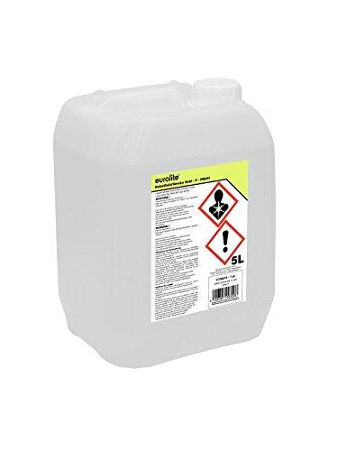 Eurolite Smoke Fluid -P- Profi 5 Liter | Nebelfluid für Nebelmaschinen | Hohe Dichte und lange Standzeit | Made in Germany | Geruchsneutral auf Wasserbasis | Biologisch ()