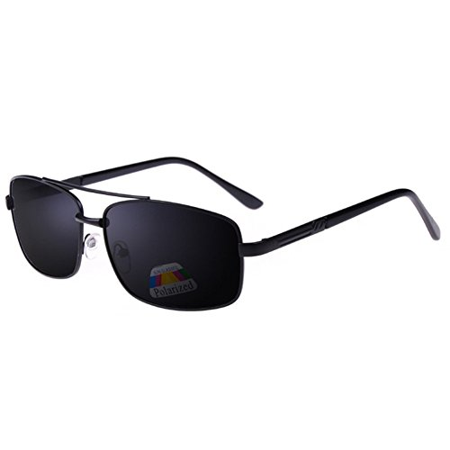 Z-P Man's New Style Fashionable Sports Style Cycling Driving Night Vision Double-beam Polarized Sunglasses 61MM