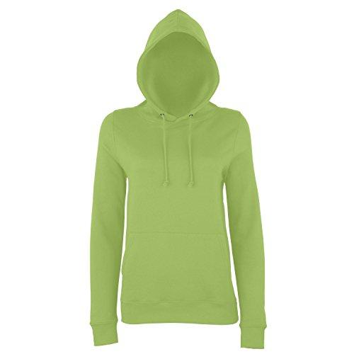 AWDis Just Hoods - Sweatshirt à capuche - Femme Vert citron