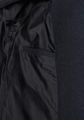 DESIRES Wolke Damen Winter Jacke Mantel Wollmantel Winterjacke mit Stehkragen, Größe:XS, Farbe:Insignia Blue Melange (8991) - 6