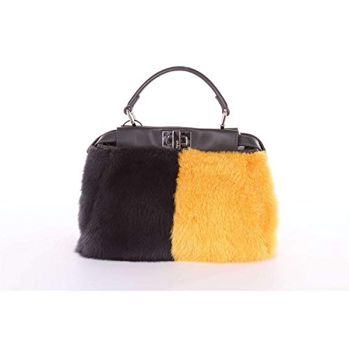 Fendi Damen 8Bn24400v83black Schwarz Leder Handtaschen - Handtaschen Schwarz Fendi