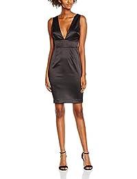 New Look Damen Kleid Deep V,