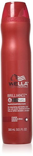 Wella Professionals Brilliance MicroLight Crystal Complex Shampoo for Fine to Normal Colored Hair 300ml by Wella