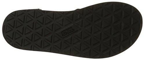 Teva Damen Original Sandal W's Sport-& Outdoor Schwarz (black 513)