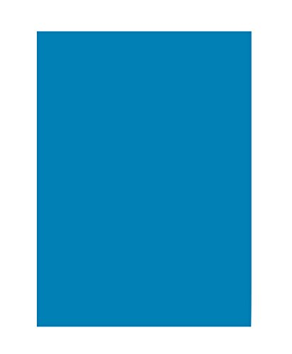 folia 6334 Tonpapier (DIN A3, 50 Blatt) mittelblau