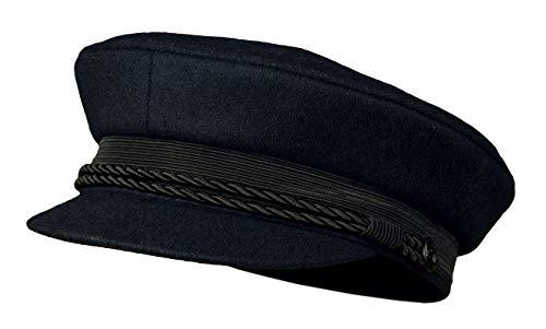 Balke Elbsegler Kapitänsmütze mit Kordel - marine, Größe:56, Farbe:marine
