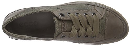ECCO Dress Sneaker, Scarpe Stringate Basse Derby Donna Marrone(Dark Clay/Tarmac 55870)