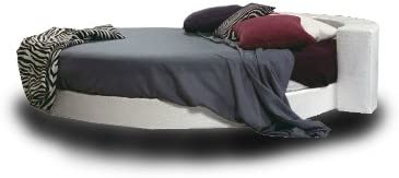 Cama redonda, colchón de buena calidad incluido, 220cm de diámetro! Tapicería de tela. Producto MADE IN ITALY!!!