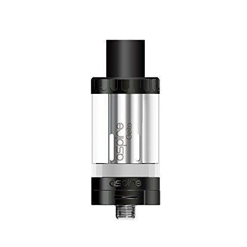 Aspire Cleito Tank Direct Airflow Top Fill Sub-Ohm Tank Full Kit with Cleito Coil 0.2ohm-0.4ohm (Black)