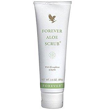 Forever Aloe Scrub- gommage visage, hydrate, purifie la peau et resserre les pores