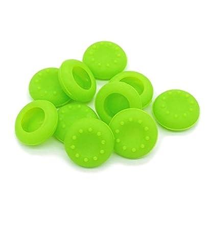 Stillshine prise de pouce thumb grip silicone caps pour PS2, PS3, PS4, Xbox 360, Xbox One, Wii U Manette (Green