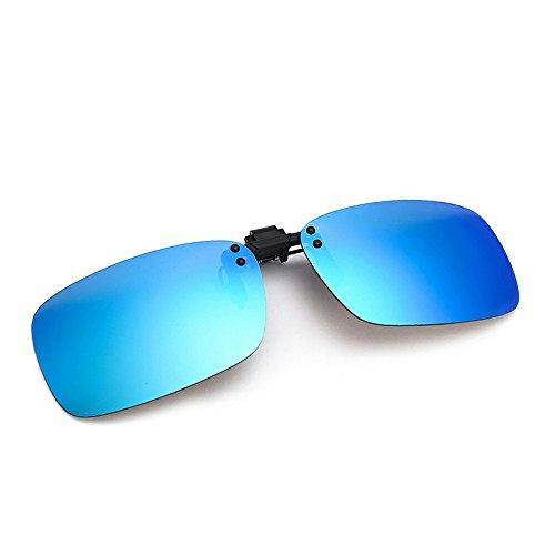 Cyxus Flash, occhiali da sole polarizzati con lenti a specchio-Prescription, Occhiali Anti-glare] [] Guida protezione (Ambra Specchio)