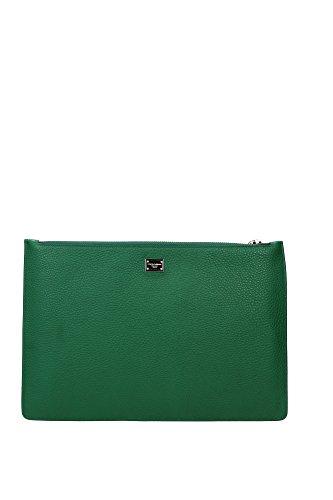 BI2182AB5148H526 Dolce&Gabbana Pochette de soirée Femme Cuir Vert Vert