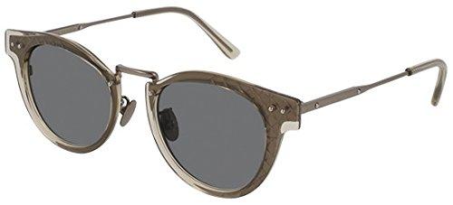 Bottega Veneta - Sonnenbrille Rund Acetat/Me