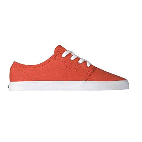 Fallen Daze 41070064 - Zapatillas de Skate de Lona para Hombre, Color Rojo, Talla 44.5