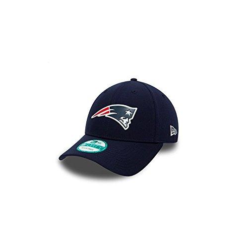 New Era 9Forty Visiera Curvo NFL New England Patriots Poly Weld Blu Marino / Bianca Regolabile Cappello da baseballs 55-61cm Dimensione Regolabile