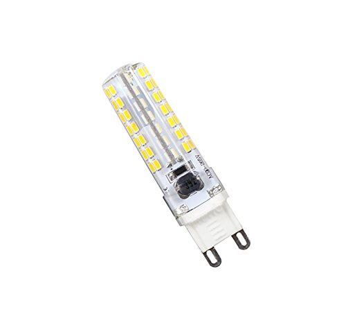 LED almacén, Cool White / Warm White, AC200-240V G9 LED Bulbs Sello de silicona cruzada 6W 360-400lm 6000-6500K / 2800-3200K 112 X SMD 3014 LED ( Color : Warm white )