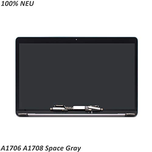 FTDLCD® 13.3 Zoll LED LCD Screen Display Assembly für Apple MacBook Pro Retina A1708 Ende 2016 EMC 2978 (Space Gray) Macbook Pro Lcd Display