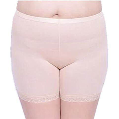 zando Mujer Algodón Ultra Thin elástico suave Modal corto Plus tamaño Leggings