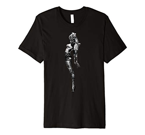 Zombie Pinup Girl T-Shirt