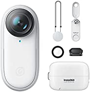 insta360 Go 2 Small Action Camera, Weighs 1 Oz, Waterproof, Stabilization, Pov Capture, 1/2.3 inches Sensor, W