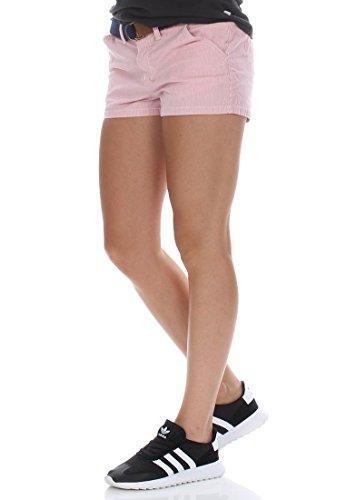 Superdry Shorts Women RIVIERA HOT SHORT Pink Ecru Pink