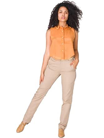 American Apparel Unisex Twill Welt Pocket Pant - Khaki / 32