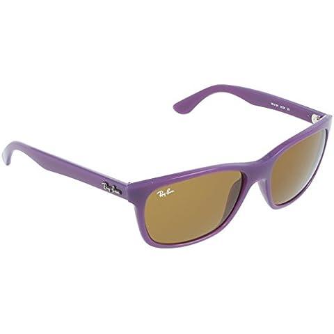 Ray-ban - Mod. 4181 , Occhiali Da Sole da unisex - adulto, opal violet (opal violet), 57