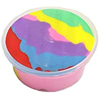 Lilicat Schöner Ton Spielzeug Baby Kind Toys Farbmischungs-Wolken-Schleim-Putty Scented Stress Kinder Ton Spielzeug (Mehrfarbig)
