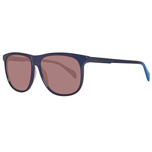 Diesel Herren DL0155 5690J Sonnenbrille, Blau, 56