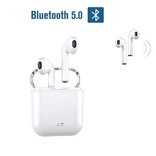 Preisvergleich Produktbild Bluetooth-Headsets,  kabellose Headsets Headset Bluetooth 4.2 InEar-Kopfhrer Ohrhrer Wireless-Stereo-In-Ear-Freisprecheinr... für Apple Airpods Android / iPhone
