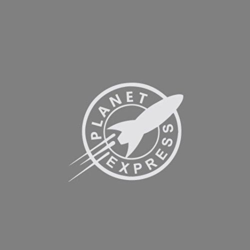 Planet Express - Herren Langarm T-Shirt Schwarz