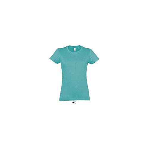tshirt-madeleine -  T-shirt - Donna BLEU CARAIBES